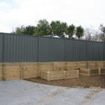 Colour Steel Fencing
